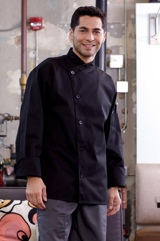 RIO Chef Coat in Black