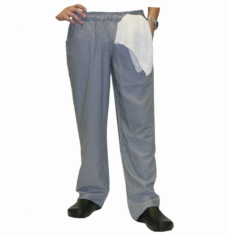 Women's Chef Pants in Houndstooth