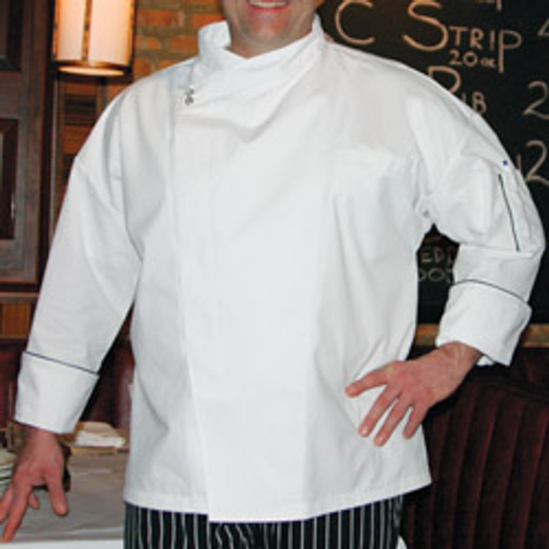 Montreal Chef Coat in White Egyptian Cotton