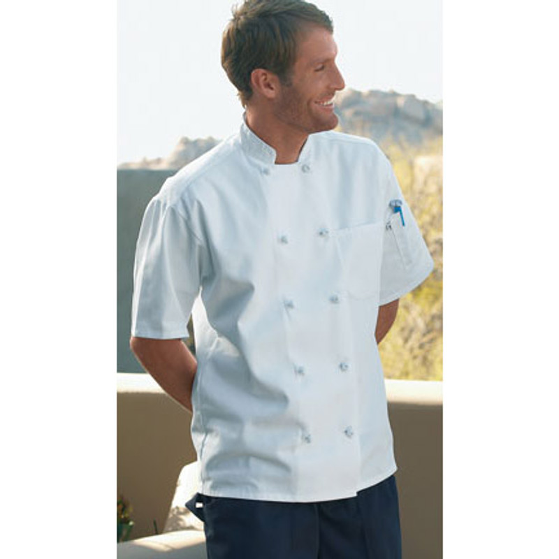 Monterey Chef Coat in White