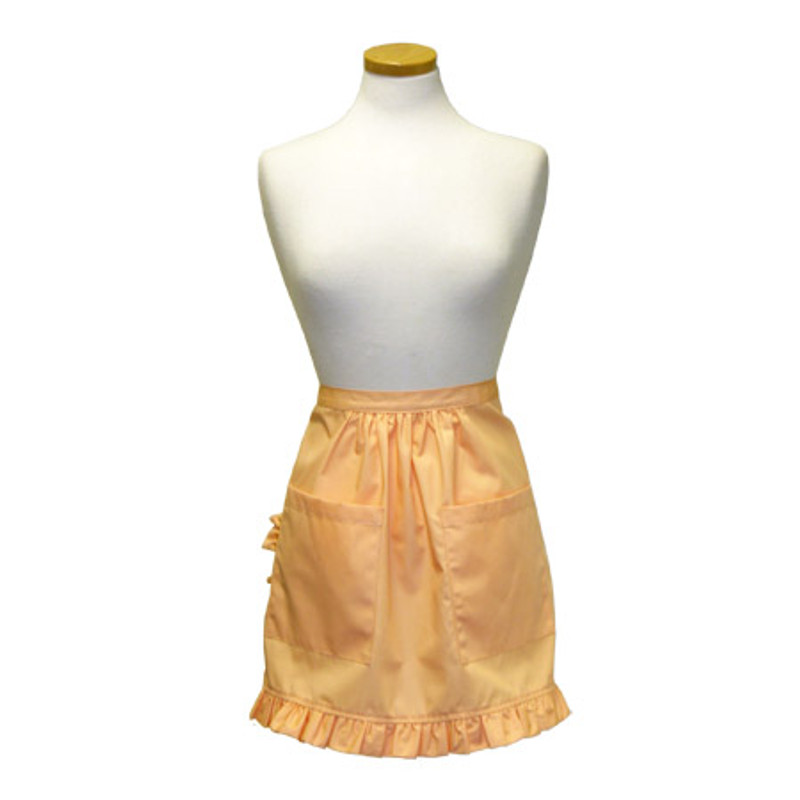 Ladies Apron with Ruffles