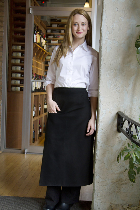 Standard Bistro Apron with Concealed Pocket