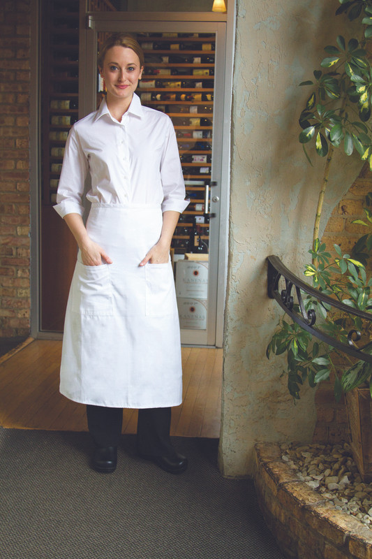Standard Bistro Apron with 2 Patch Pockets