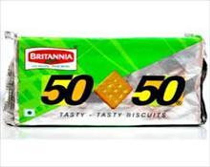 BRIT.50-50 Crackers 62gms