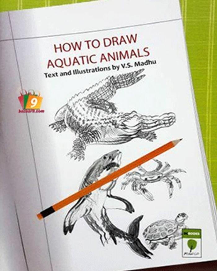 HOW TO DRAW AQUATIC ANIMALS