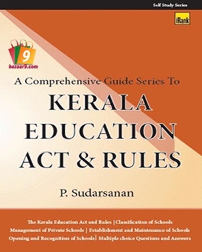 KERALA EDUCATION ACT AND RULES (KEAR)