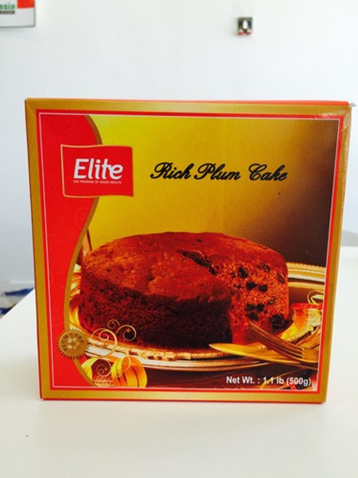 ELITE RICH PLUM CAKE - 500 GMS - 2 PACK - 50% OFF