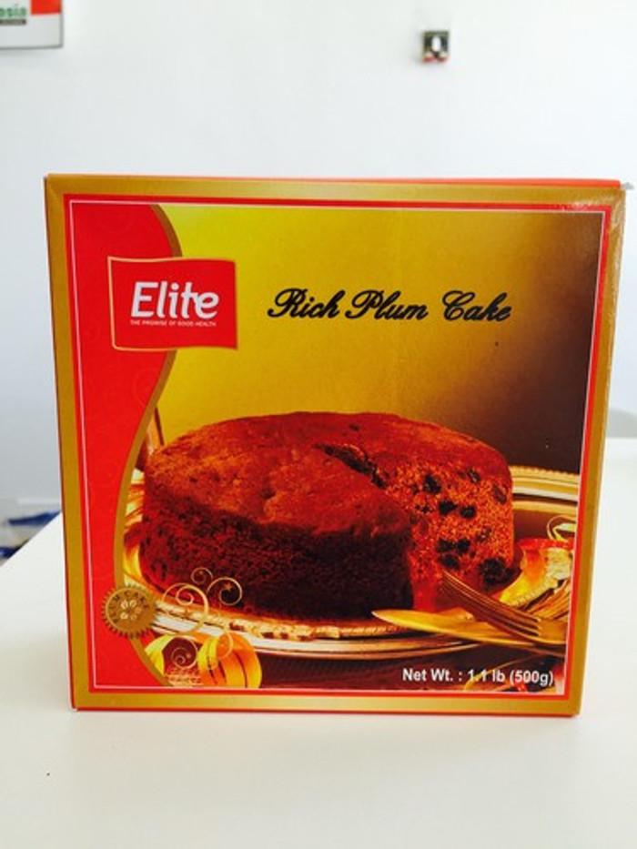 ELITE RICH PLUM CAKE - 500 GMS - 2 PACK - 50% OFF