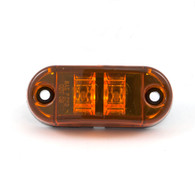"Sidemarker/Clearance Light - Self-Grounding - 2-1/2"" LED - Amber"
