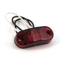 "Sidemarker/Clearance Light - Self-Grounding - 2-1/2"" LED - Red"