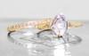 1.37 Carat Hand-Cut Aquamarine Ring in Yellow Gold
