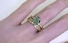 KIKAI Ring in Yellow Gold with 1.34 Carat Emerald