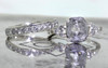 1.75 Carat Salt and Pepper Diamond Ring in White Gold