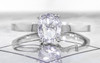 .75 Carat Salt and Pepper Diamond Ring in White Gold