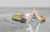 Diamond Triangle Ring