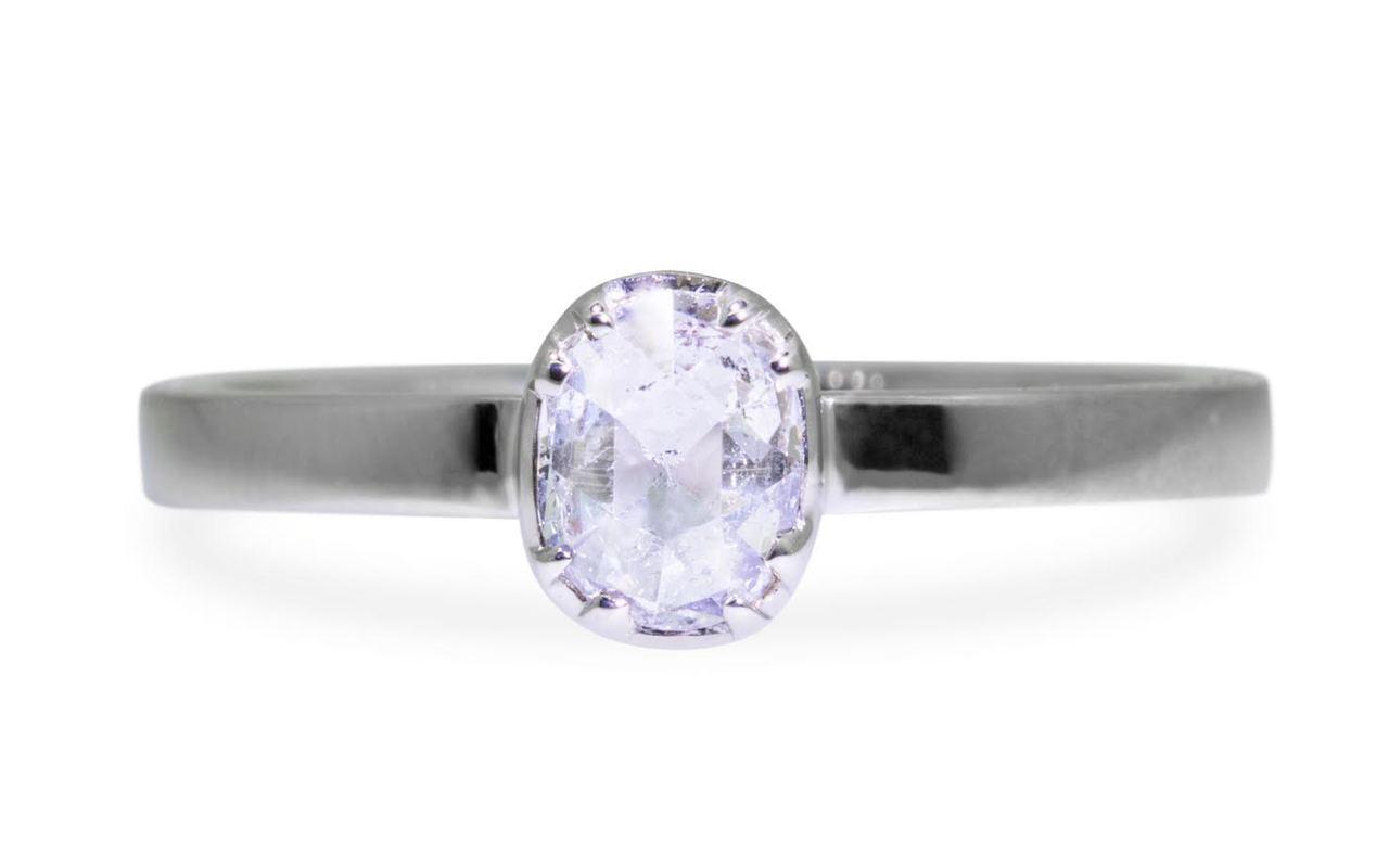 .45 Carat Natural White Diamond in White Gold