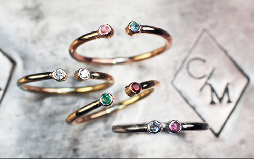 The Original 14K Birthstone Ring