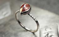 2.55 Carat Red Diamond Ring