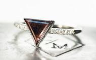 .94 Carat Chocolate Diamond Ring