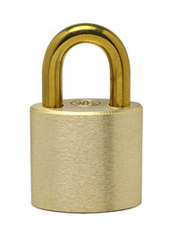 "1"" Brass Shackle - Solid Brass Padlock - Made in USA"