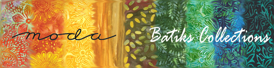 moda fabric batiks