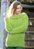"Chunky Sweater ""Odina"" Knitting Pattern 