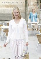 Ladies Cardigans DK Pattern | Sirdar Countrystyle DK | 9720 - Main image