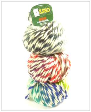 Adriafil Asso (or Ace) Fancy Knitting Yarn