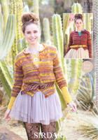 Cardigans DK Knitting Pattern | Sirdar Divine 7176