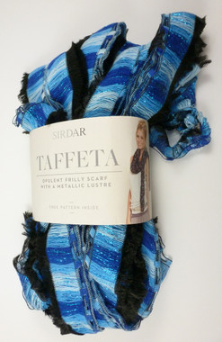 Sirdar Taffeta Scarf Knitting Yarn - Portobello 131