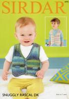 Sirdar Rascal pattern 4774 - Boys waistcoat pattern
