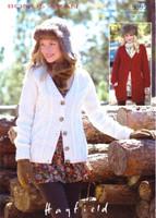Ladies Cabled Cardigan & Jacket Aran Patterns   Sirdar Aran 9395