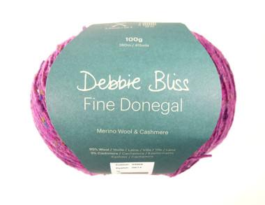 Debbie Bliss Fine Donegal - Fuchsia 09
