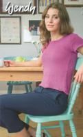 Dk Pattern for Lace Back Sweater - Wendy Supreme Cotton Dk Pattern 5877