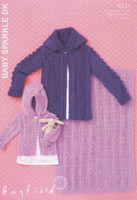 Hayfield Baby Sparkle Pattern for a DK Hooded Jacket and Blanket - 4537