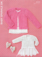 Hayfield Baby Sparkle Pattern - 4539