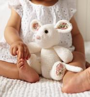 Toy Mouse Crochet Pattern | Debbie Bliss Rialto 4 Ply
