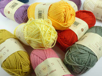 Rowan Handknit Cotton DK Knitting Yarn, 50g Balls | Various Colours