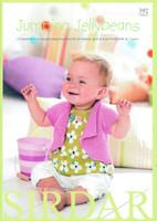 Sirdar Jumping Jellybeans Babies Pattern Book | Sirdar Book 392