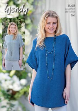 Dk Pattern for Scoop Hem Sweater and Tunic | 5993 | Wendy Fleur Dk
