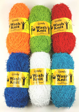 Wendy Wash Knit Knitting Yarn - 6 Colours