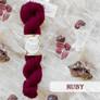 West Yorkshire Spinners | Wensleydale Gems - 100% Wensleydale DK - Ruby