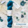 West Yorkshire Spinners | Wensleydale Gems - 100% Wensleydale DK - Turquoise