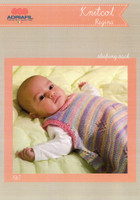 Sleeping Sack Pattern for baby | Adriafil Knitcol and Regina 1567