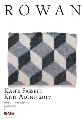Kaffe Fassett Knit along 2017 - Rowan yarns Week 1
