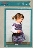 Baby & Childs  Dress Pattern | Adriafil Knitcol 1548