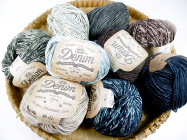 DMC Natura Denim Crochet Cotton medium, 50g | Various Colours