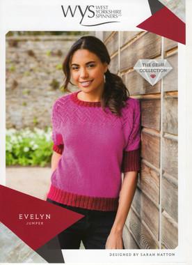 Evelyn Lace Jumper Pattern | WYS Wensleydale Gems