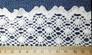 Wide Cotton Lace Trim - 65mm wide - close up
