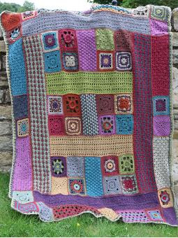 Rowan Crochet Along no. 1 - Lisa Richardson - Crochet Blanket